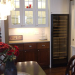 Amish cabinets in Dining room